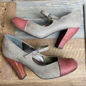 Seychelles Two Toned Mary Jane heels - GUC